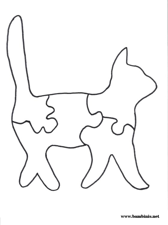 photo about Printable Jigsaw Puzzles known as Printable Jigsaw Animal Puzzles