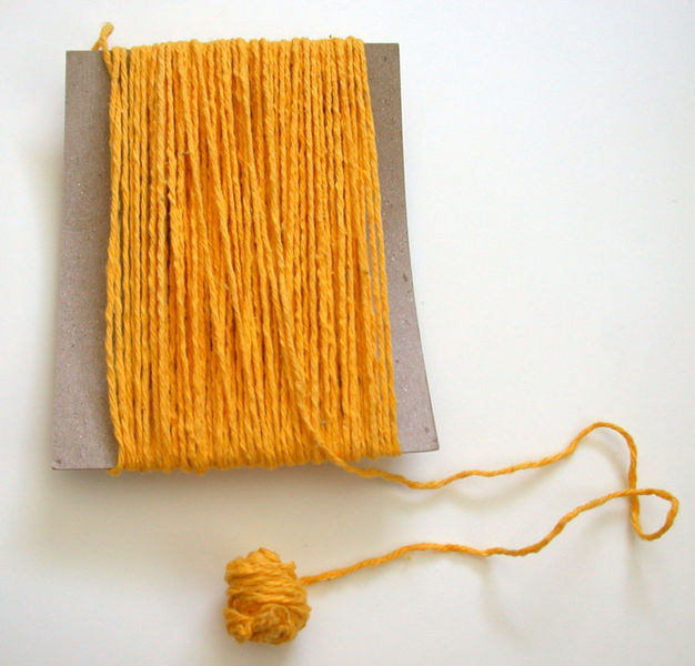 Как своими руками сделать из шерстяных ниток коврик