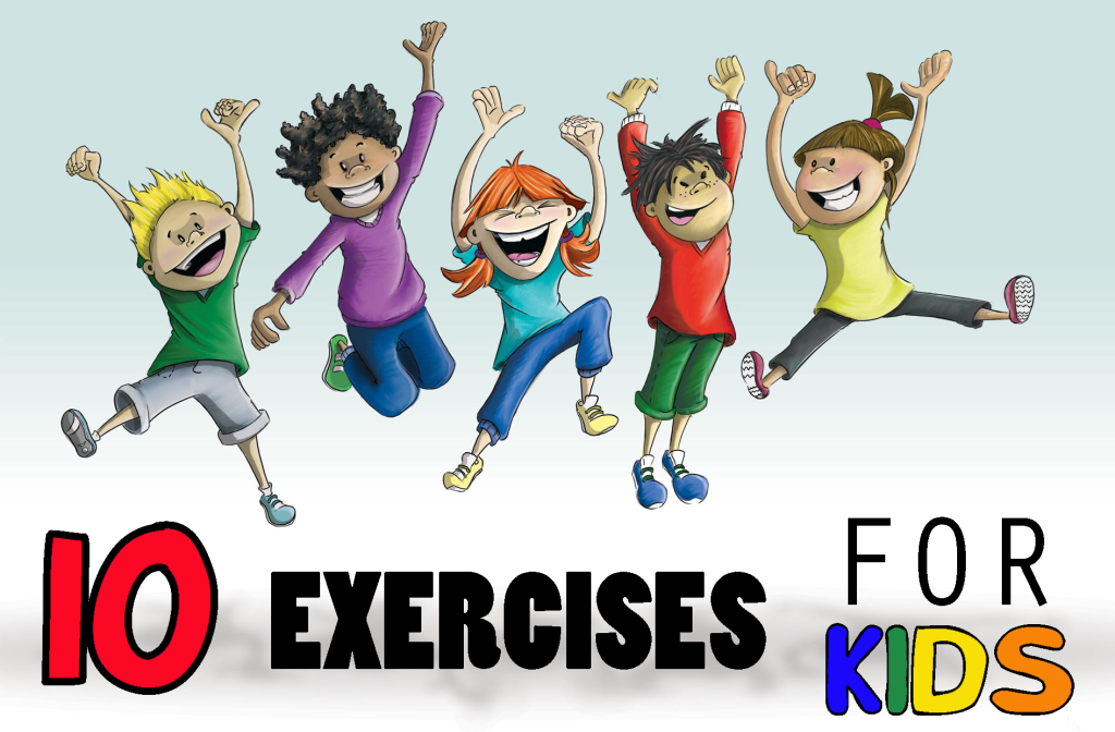 Are You Raising a Couch Potatoe? 10 Easy Exercises For Kids.
