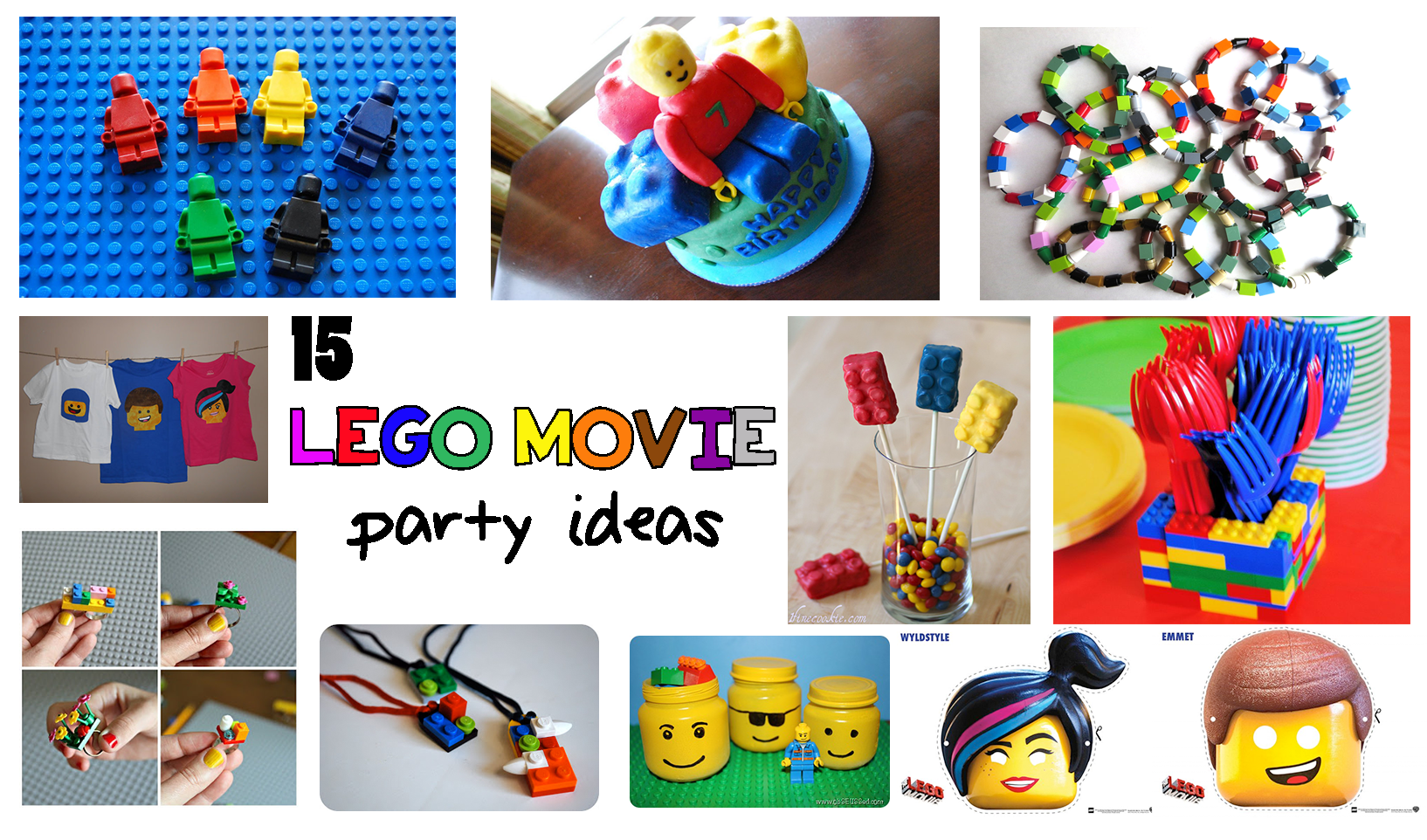 lego movie party ideas