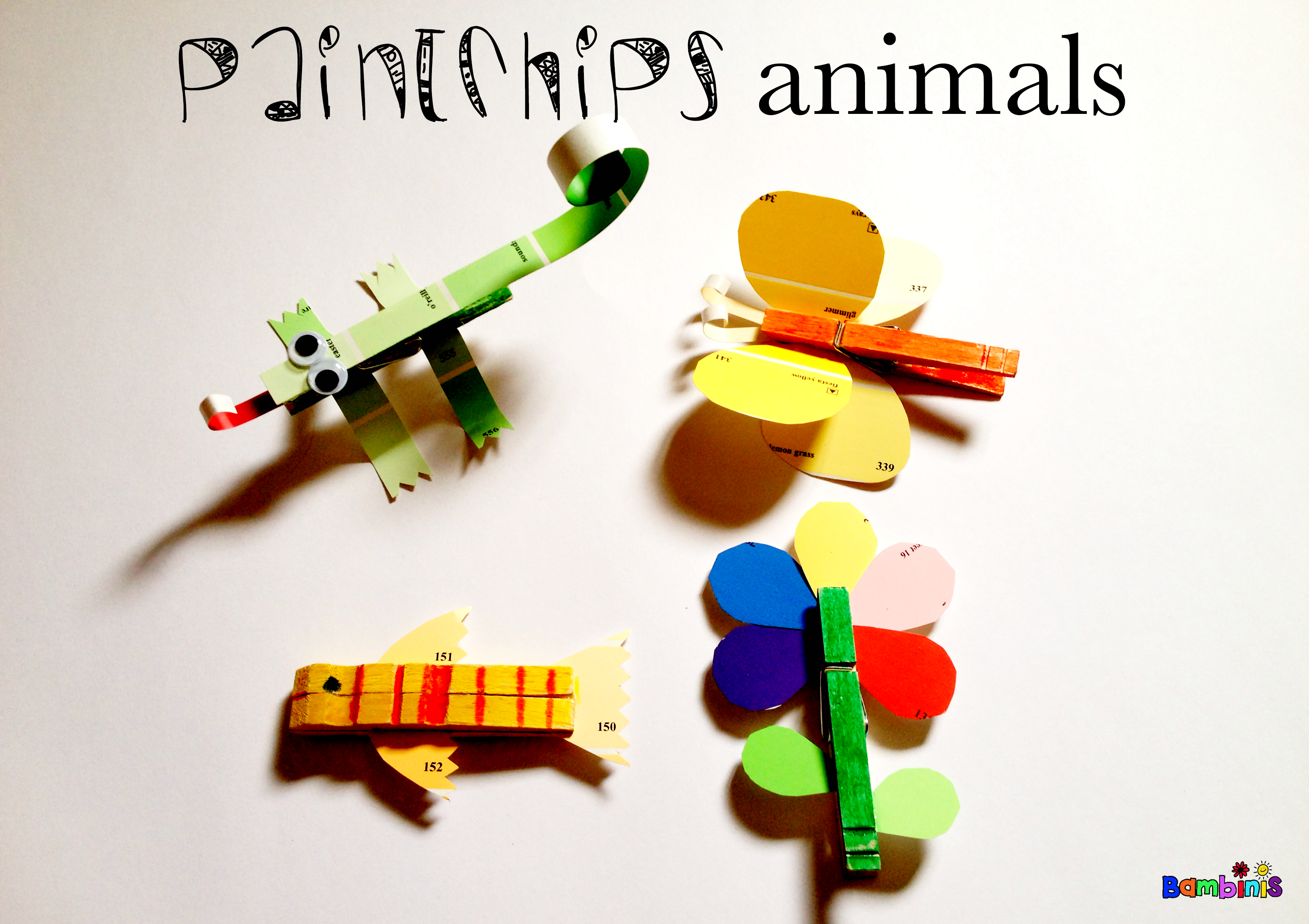 paint chips animals