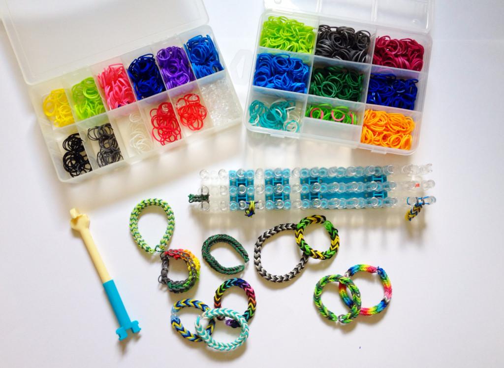 rainbow looms bracelets