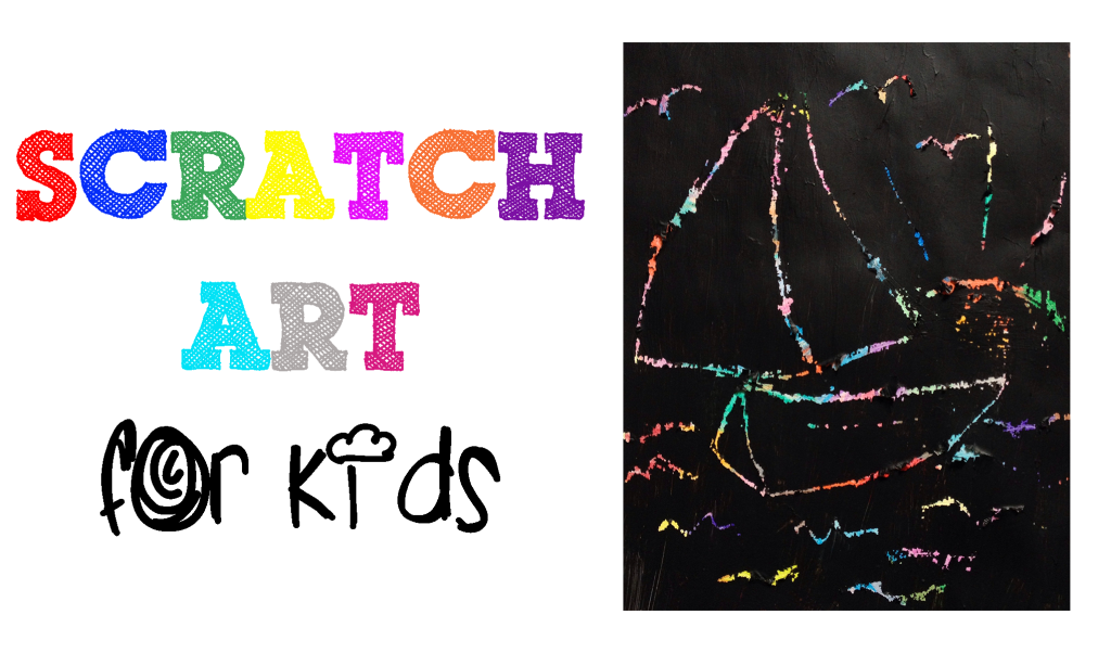 how to do scratch art drawings