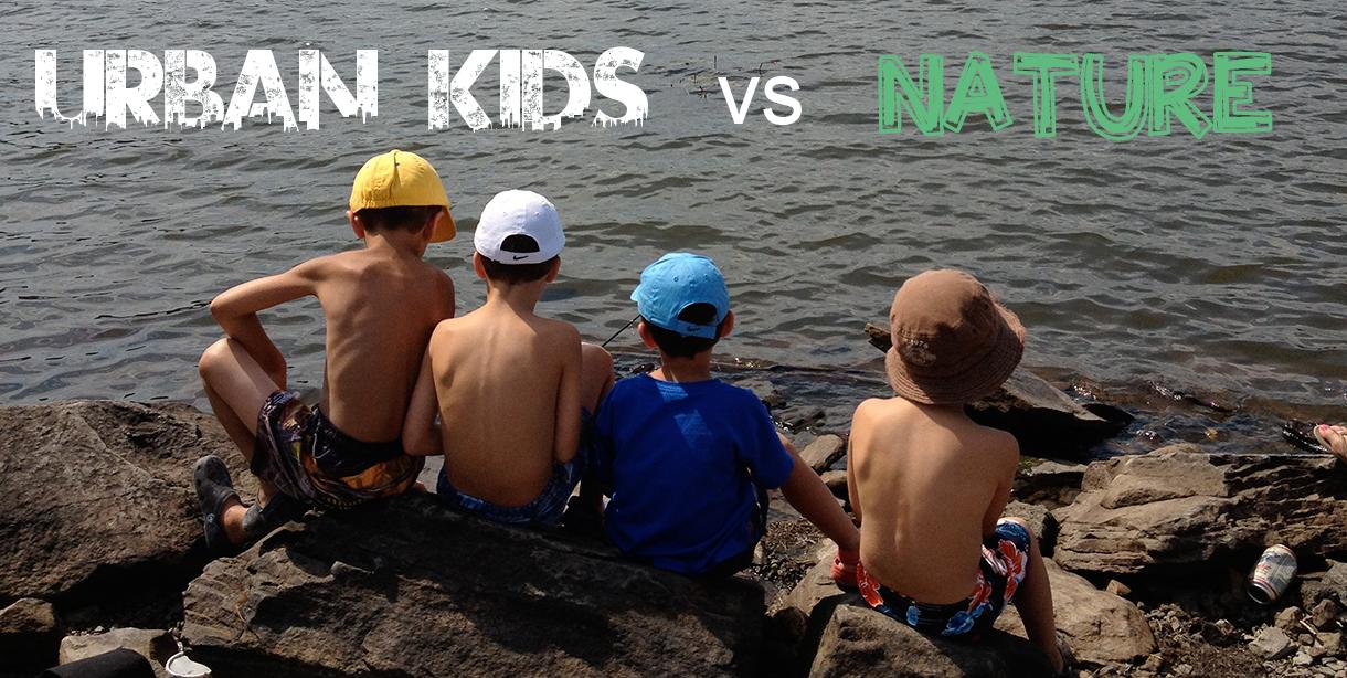 urban kids vs nature