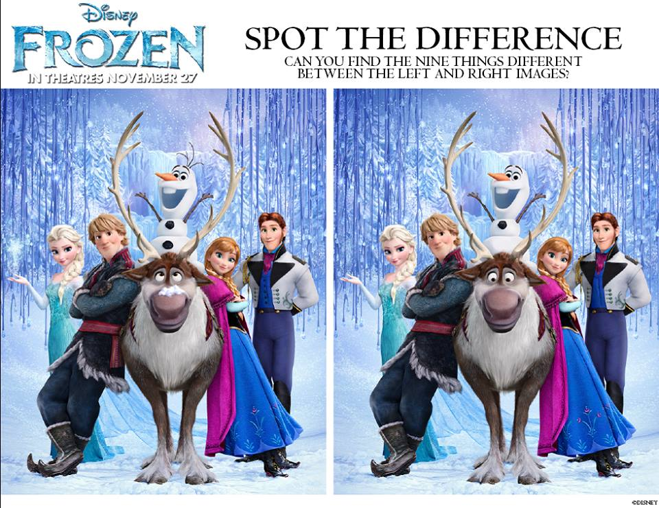 Frozen-Spot-the-Difference