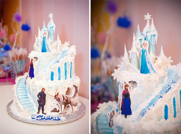 Birthday Cake Ideas Disney Frozen ~ Frozen birthday party ideas let it go and have fun