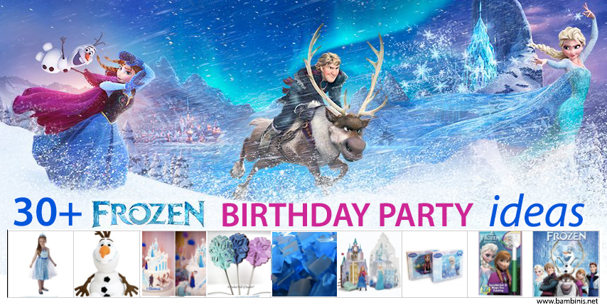 30 frozen party ideas
