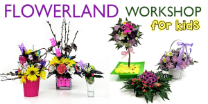flowerland workshop for kids
