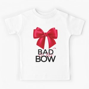 Bad to the Bow Kids T-Shirt