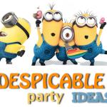 10 despicable me minion party ideas